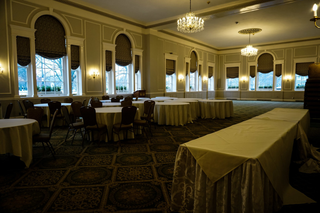 One of the Hawthorne Hotel's ghostly ballrooms.
