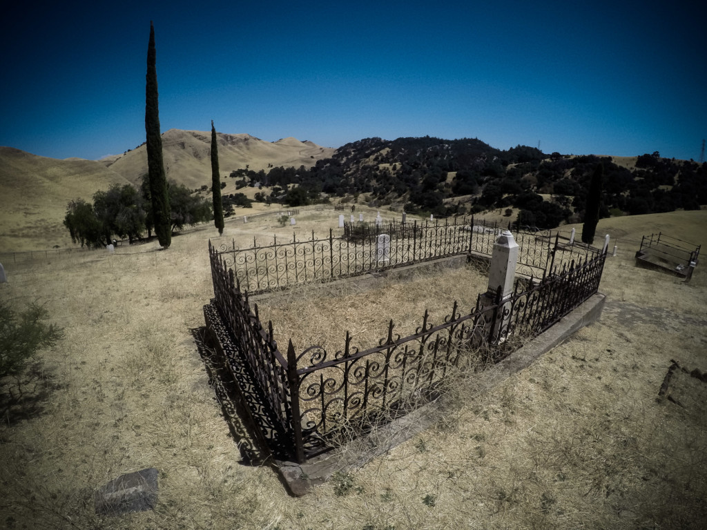 Haunted cemetery in NorCal.