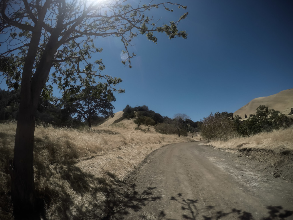 Trail to Black Diamond Mine's cemetery in Northern California.