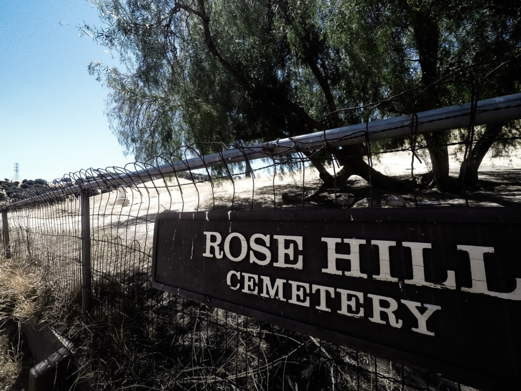 Haunted Rose Hill Cemetery in California.