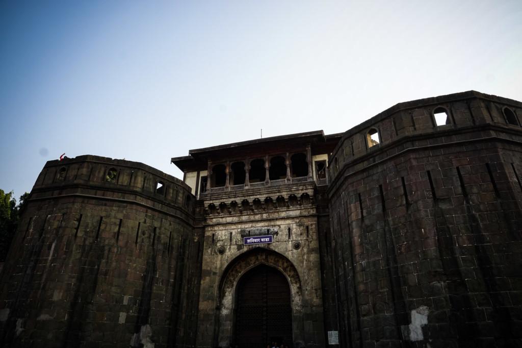 Haunted fort in Pune, India.