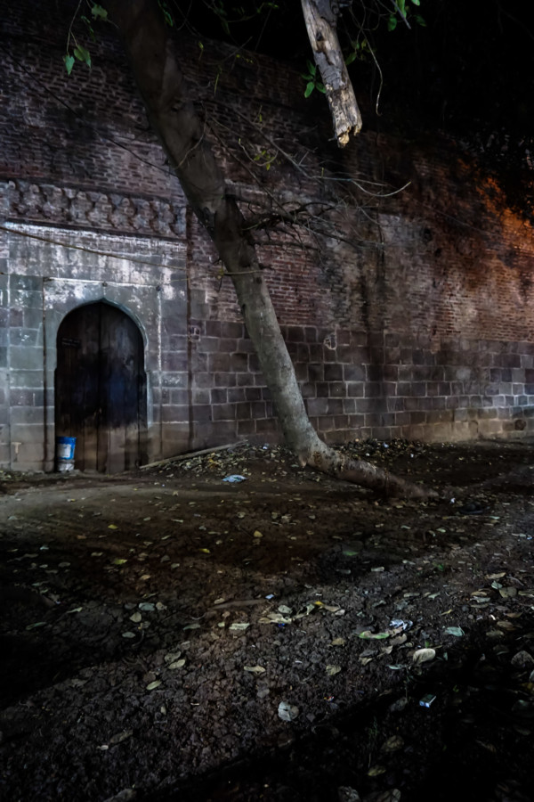 Historic and haunted fort in Pune, India.