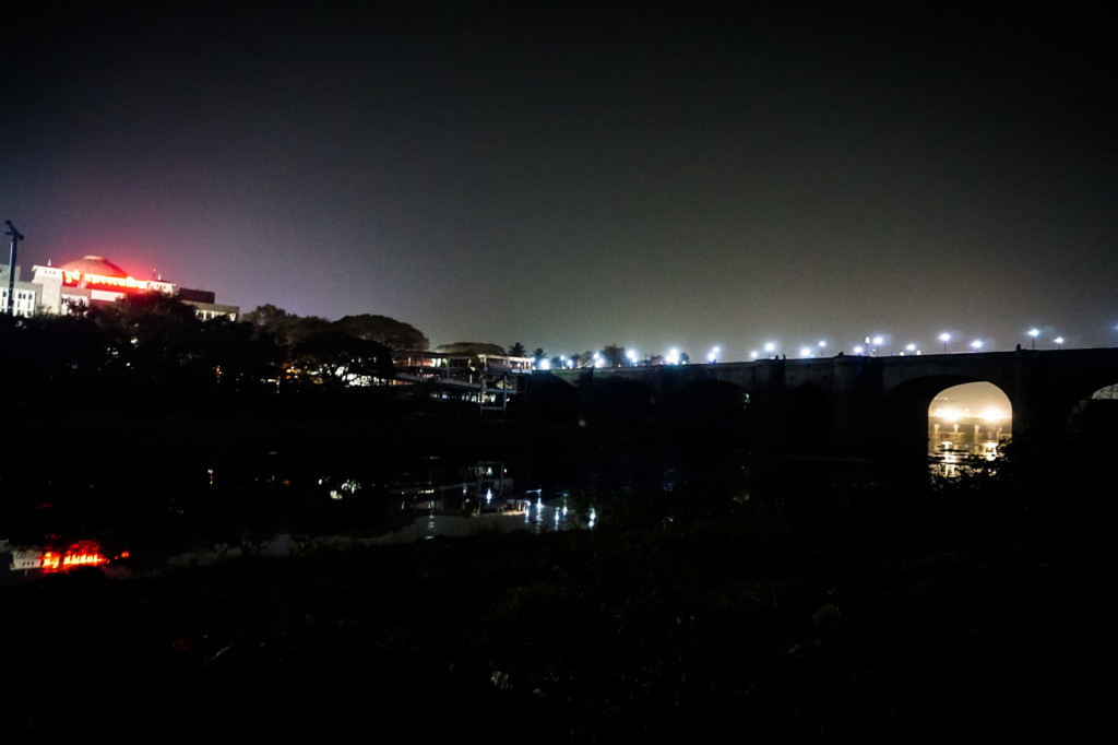 Haunted river bank in Pune.