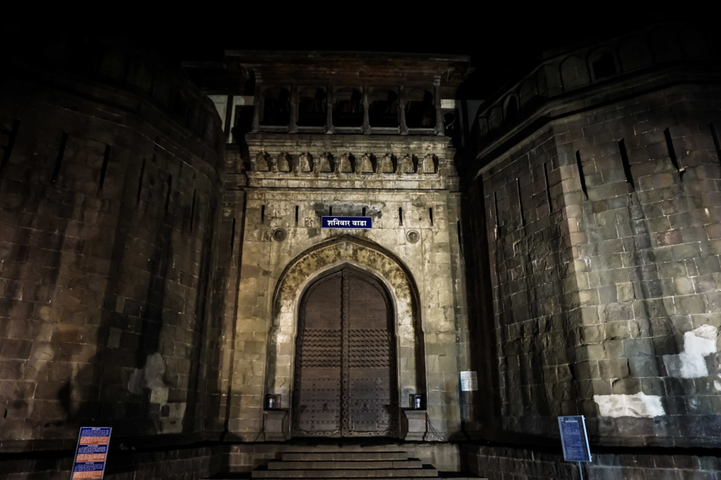 Haunted fort in Pune, India.