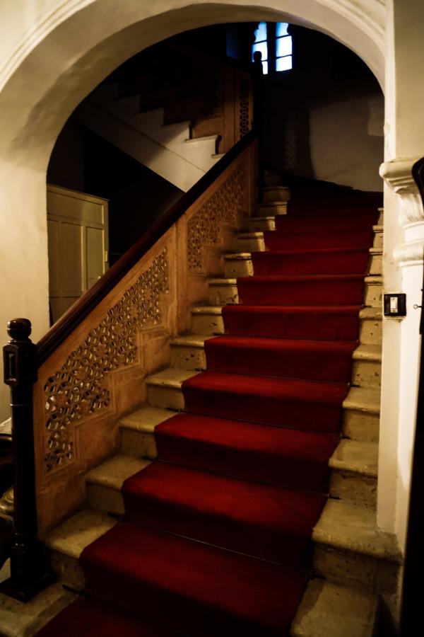 Inside Kota's haunted palace.