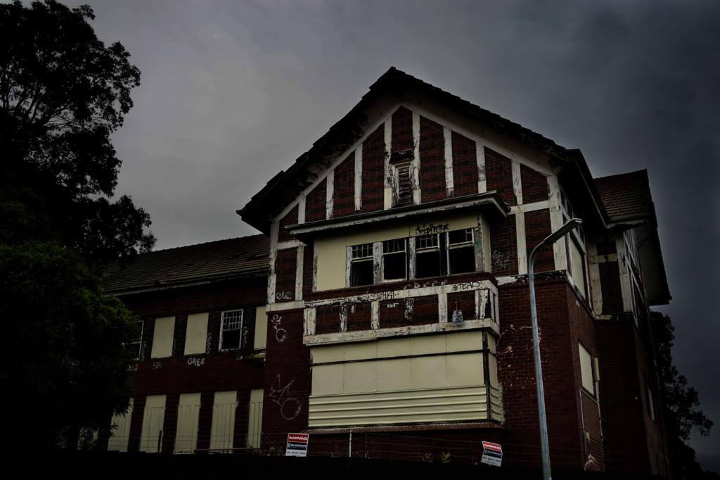 Old Larundel Psychiatric Hospital.