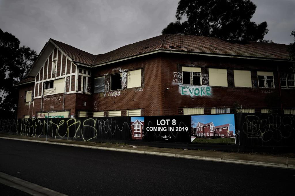 Larundel asylum to become apartments.