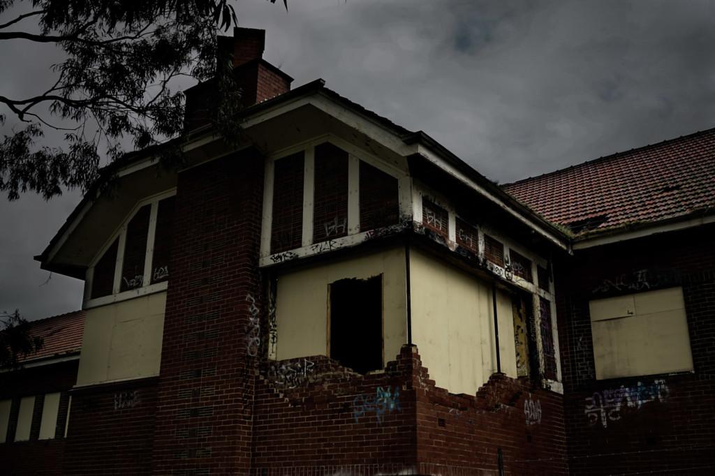 Larundel old psychiatric hospital.