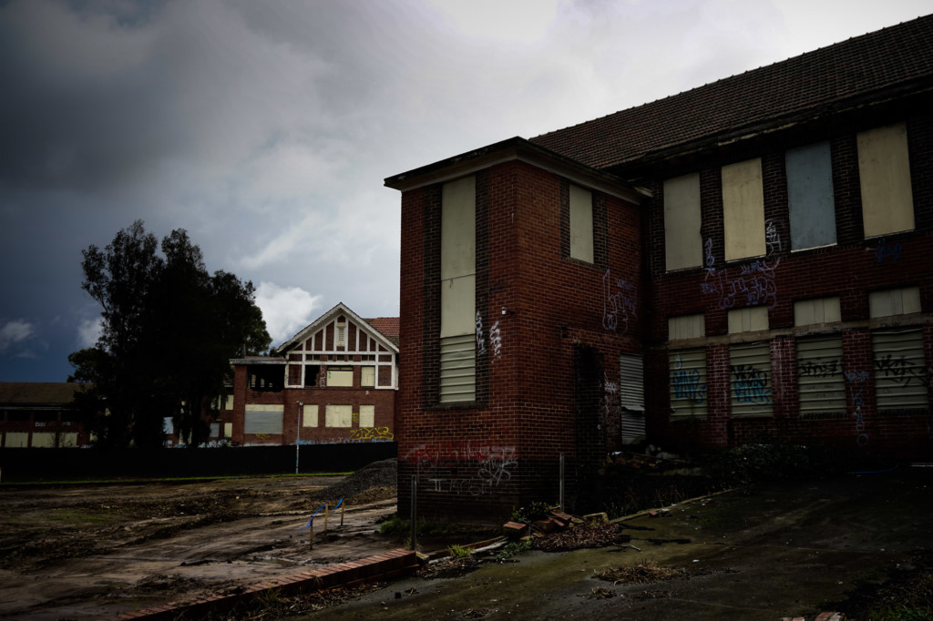 Decaying buildings of Larundel, Melbourne.