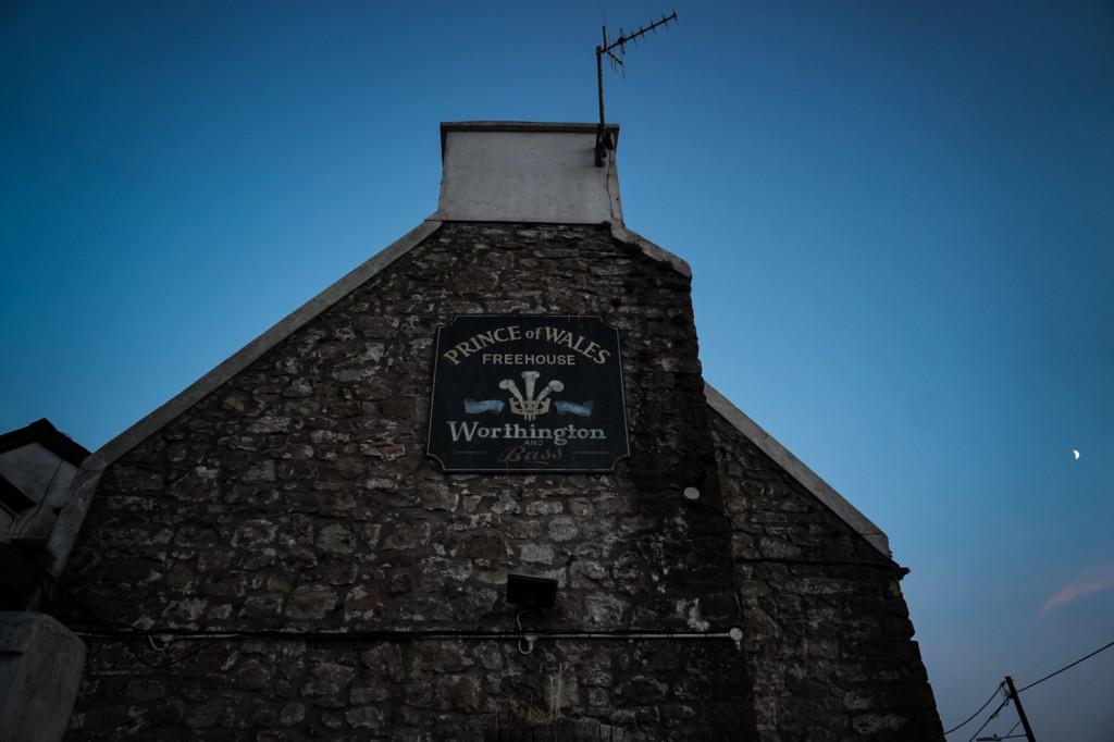 Haunted pub in Wales.