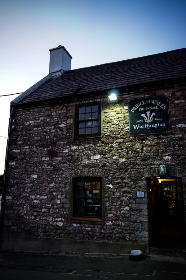 Old and haunted pub in Wales.