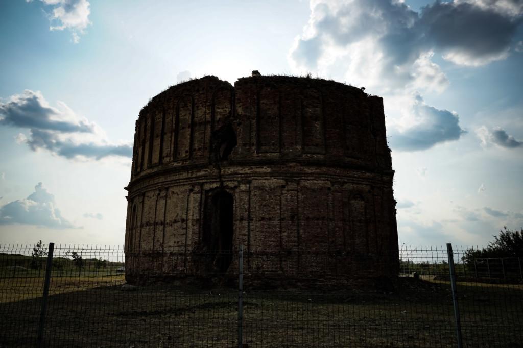 Haunted monastery in Romania.