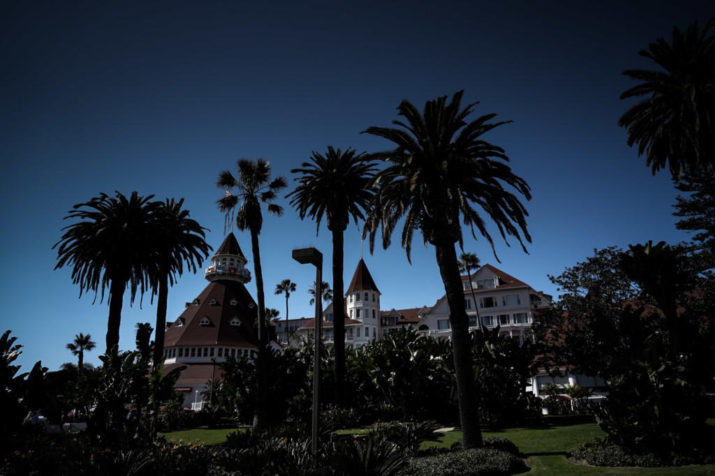 Haunted Hotel Del Coronado in San Diego, California.