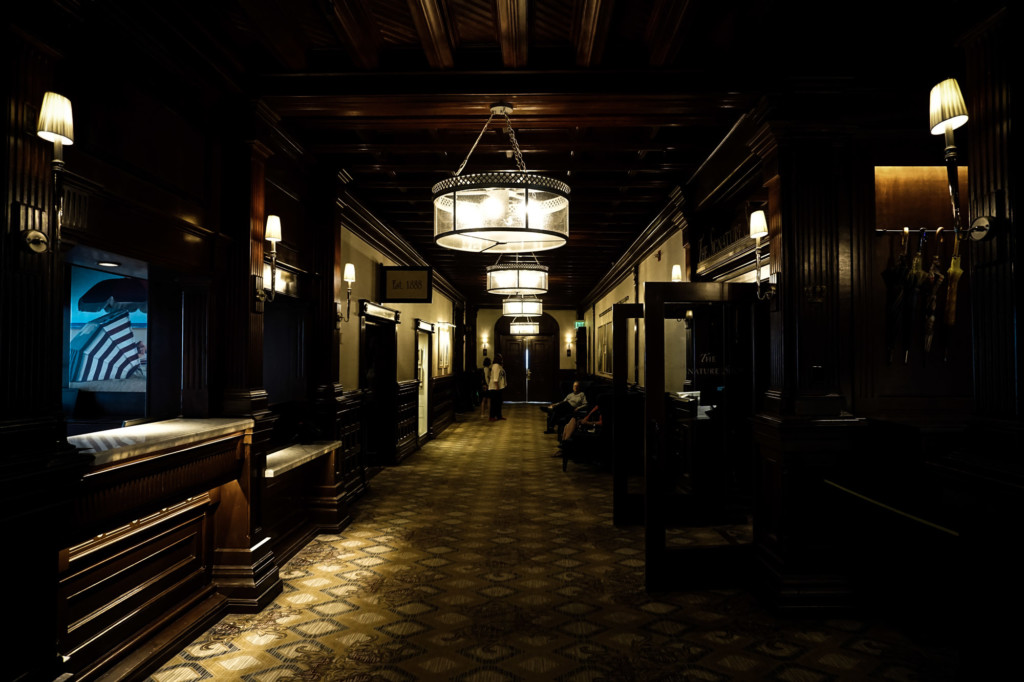 The haunted Hotel Del Coronado.