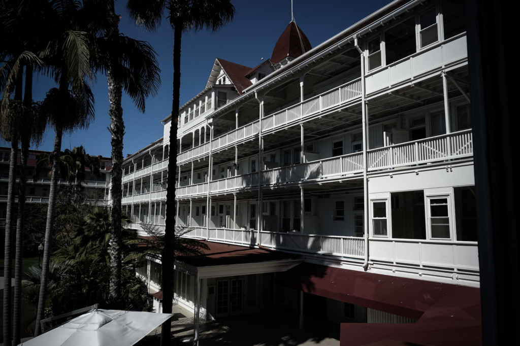 Most haunted hotel in California, the Hotel Del Coronado.