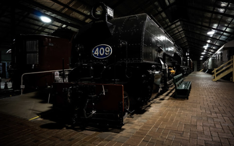 Haunting of the National Railway Museum, Port Adelaide