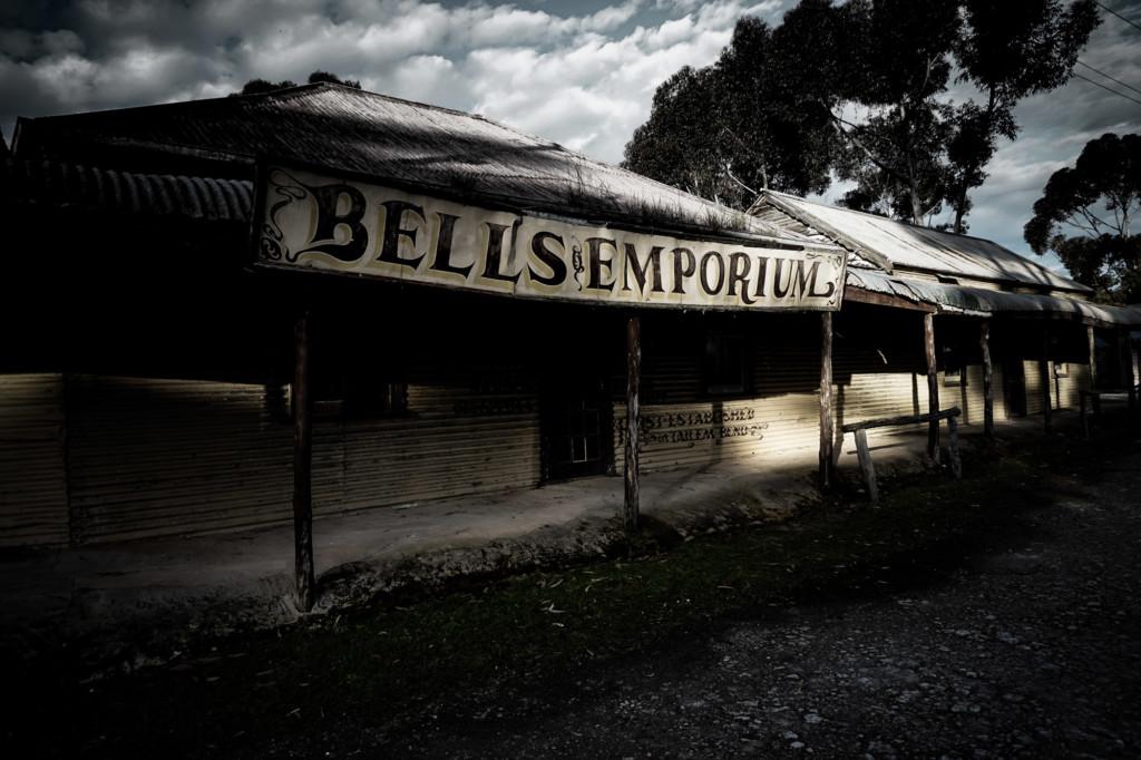 Haunted Emporium at Tailem Bend, South Australia.