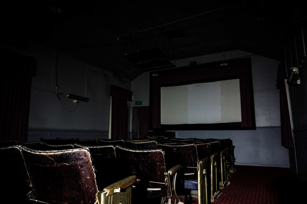 Haunted theater inside Old Tailem Town.