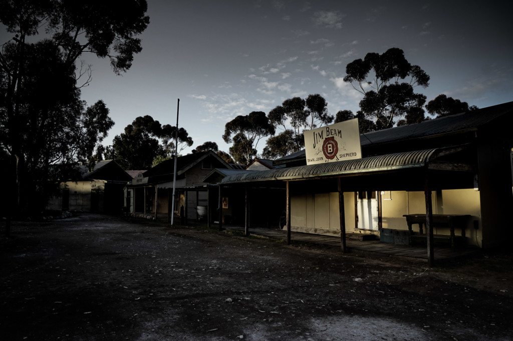 Spooky streets of Old Tailem Town.