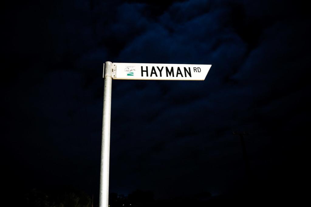 Haunted Hayman Road South Australia.