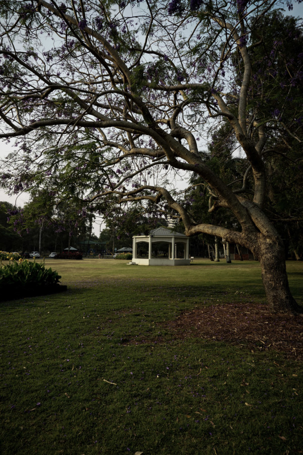 Queensland haunted park.