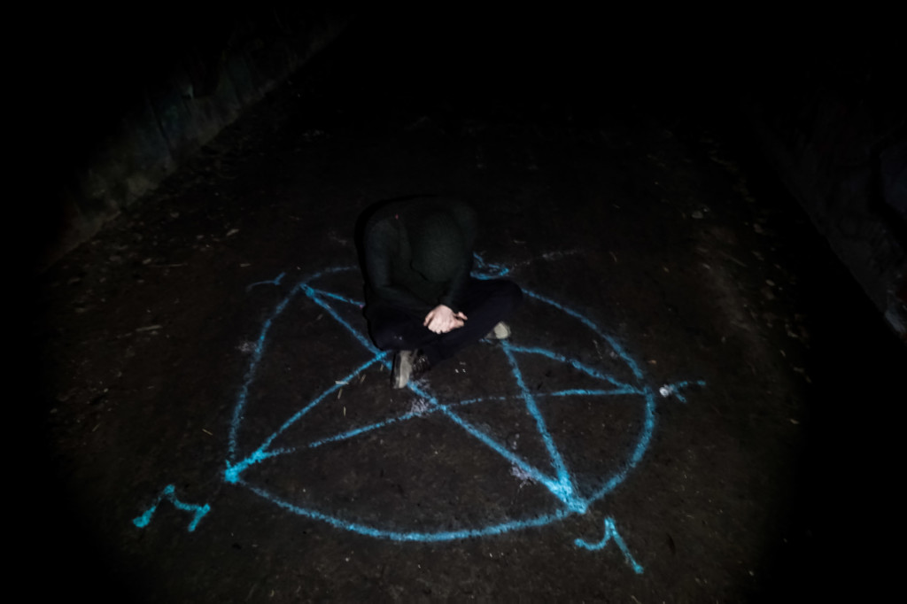 Satanic rituals were supposedly performed at the Ernest Junction Tunnel.