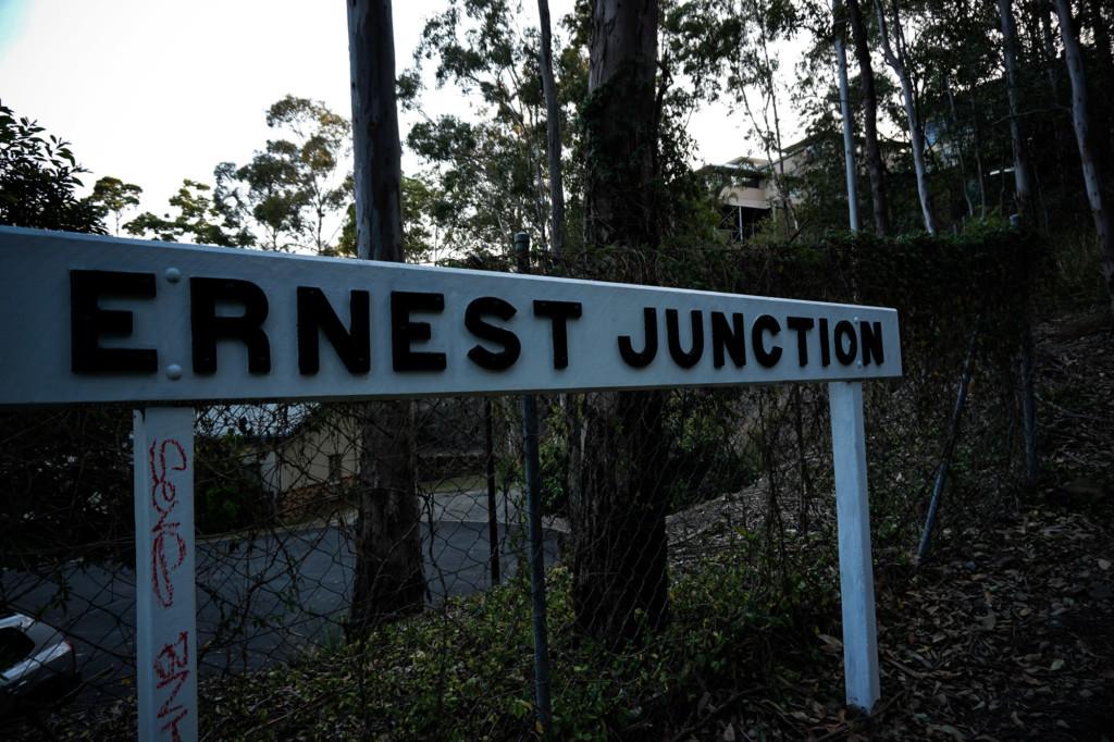 Ernest Junction Tunnel in Queensland, Australia.