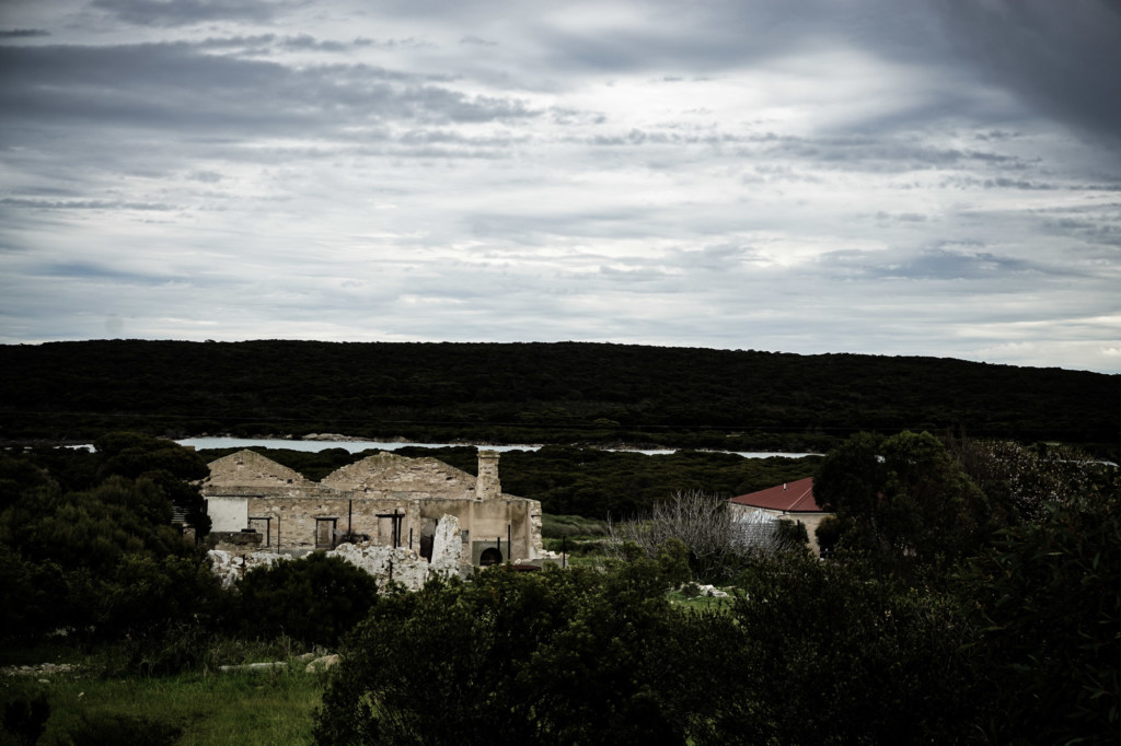 South Australian ghost town in Innes National Park.