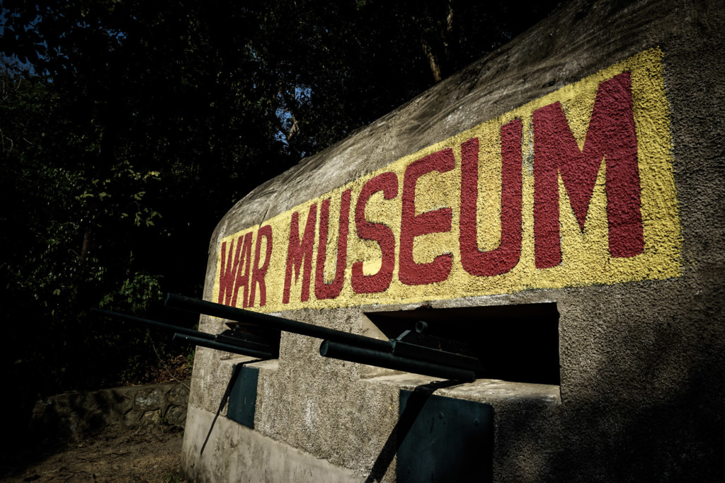 Haunted Penang War Museum.