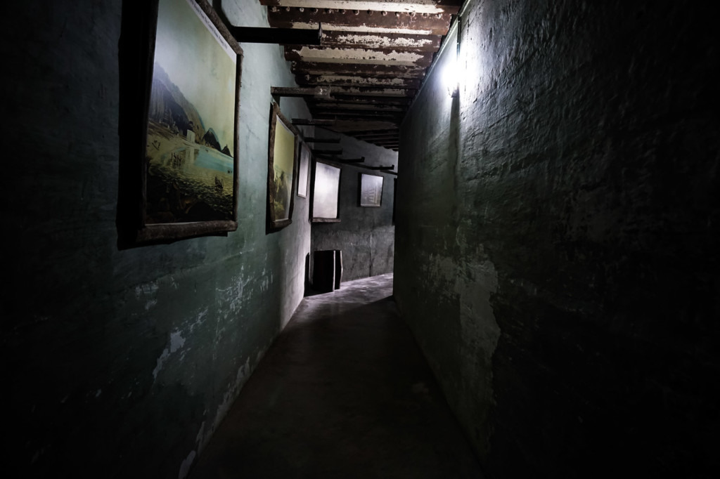 Haunted tunnels at the Penang War Museum.