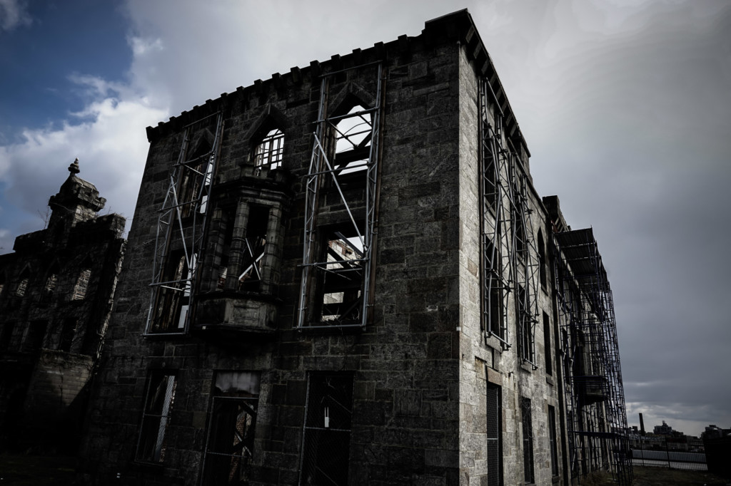 Dark history at the Renwick Smallpox Hospital.