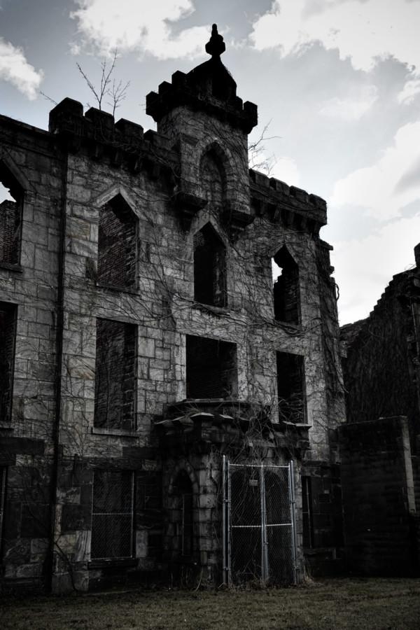Haunted hospital in New York City.