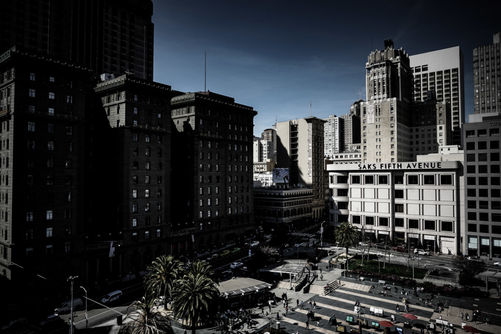 Westin St. Francis Hotel in Union Square.