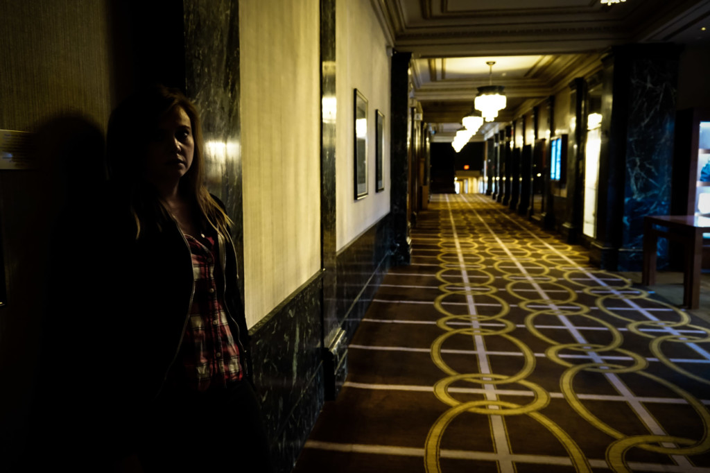 Looking for the ghosts of San Francisco's haunted hotel.