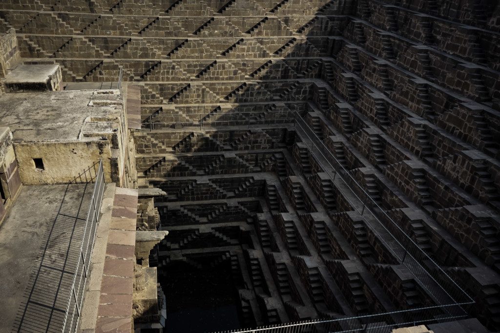 Deepest stepwell in India, the Chand Baori.