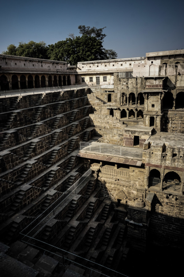 One of India's most haunted places, the Chand Baori.