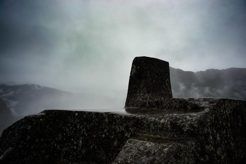 Machu Picchu's Intihuatana Stone.