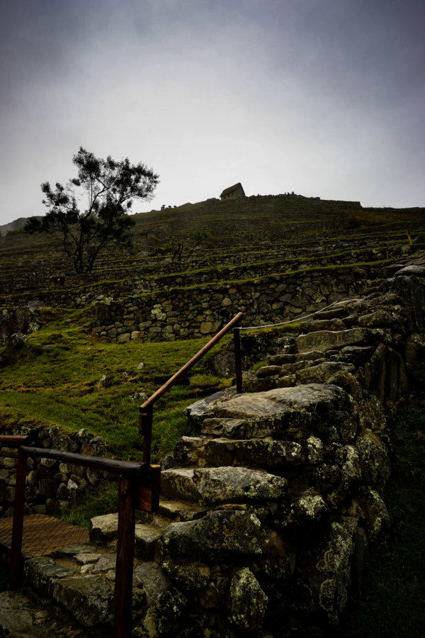 Stone ruins of Machu Picchu, Peru.