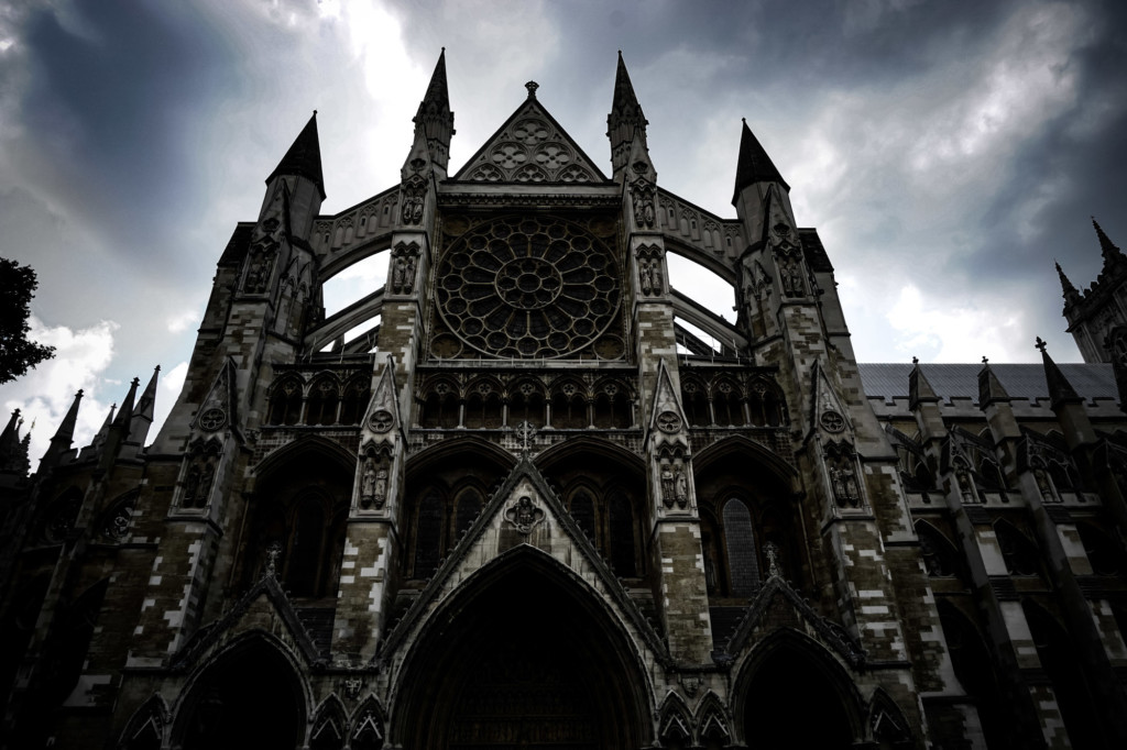 London's haunted Westminster Abbey.