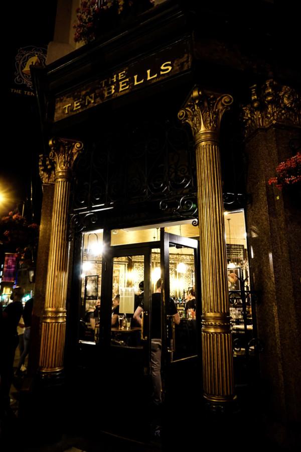 Ten Bells Pub is a haunted hotspot in London.