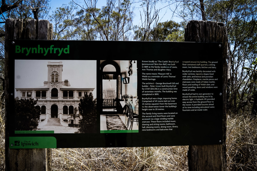 information on the Castle Blackstone hiking trail.