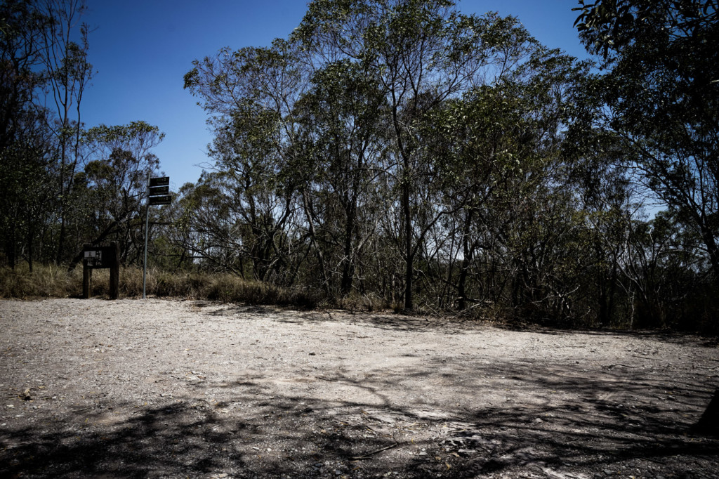 Area where a haunted mansion once stood in Queensland, Australia.