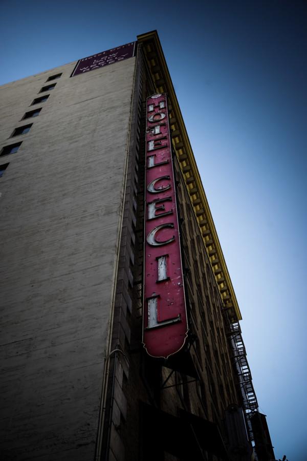 Cecil Hotel haunted Los Angeles.