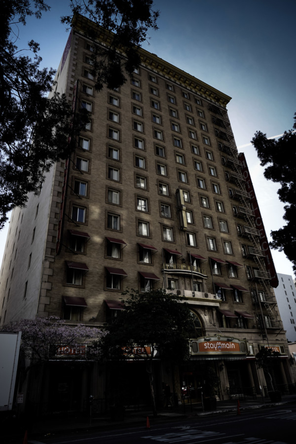 Cecil Hotel in Los Angeles.