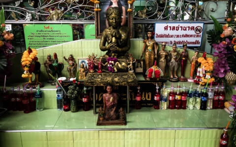 Mae Nak Shrine Ghost: Haunted Bangkok, Thailand