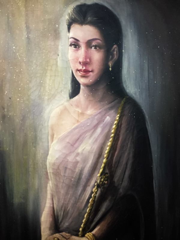 Painting of Mae Nak in Bangkok.