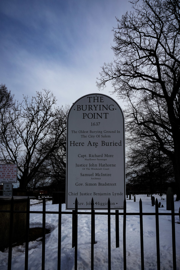 Salem Old Burying Point Cemetery.