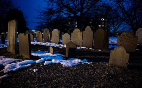 Ghosts of the Old Burying Point Cemetery, Salem