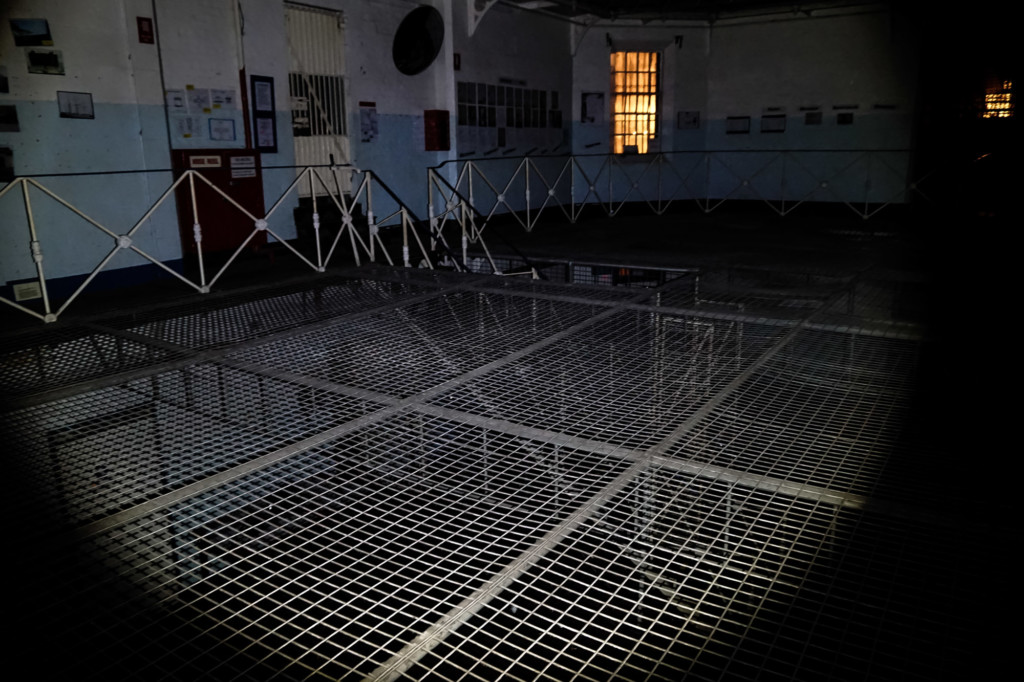 Ghosts of the Old Geelong Gaol in Australia.