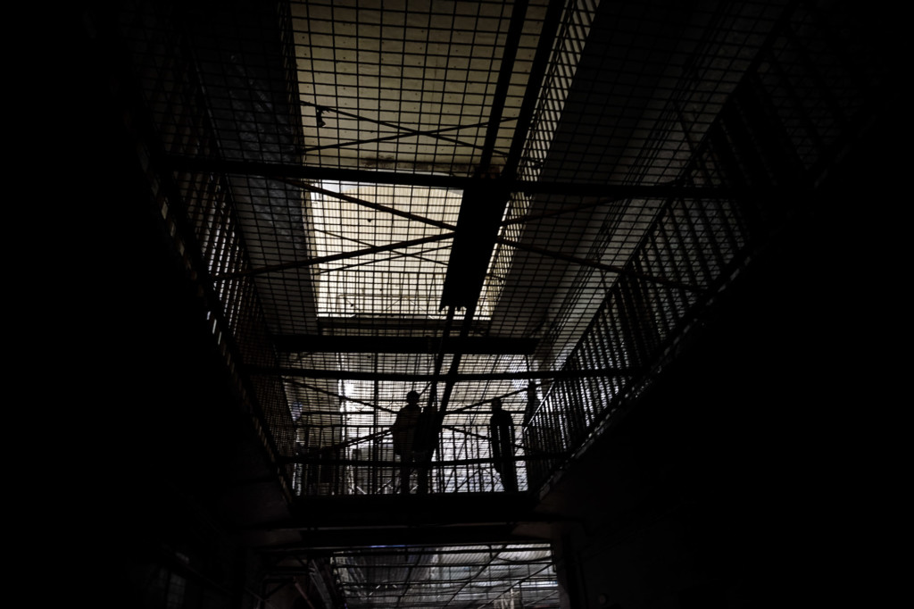 Gallows at the Geelong Gaol.